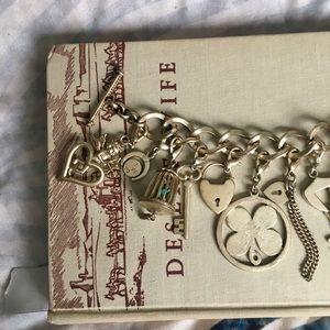 Jewelry - Golden Charm Bracelet